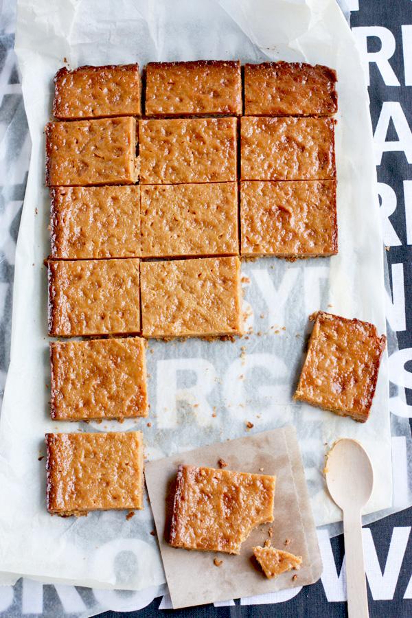 how to make caramel slice
