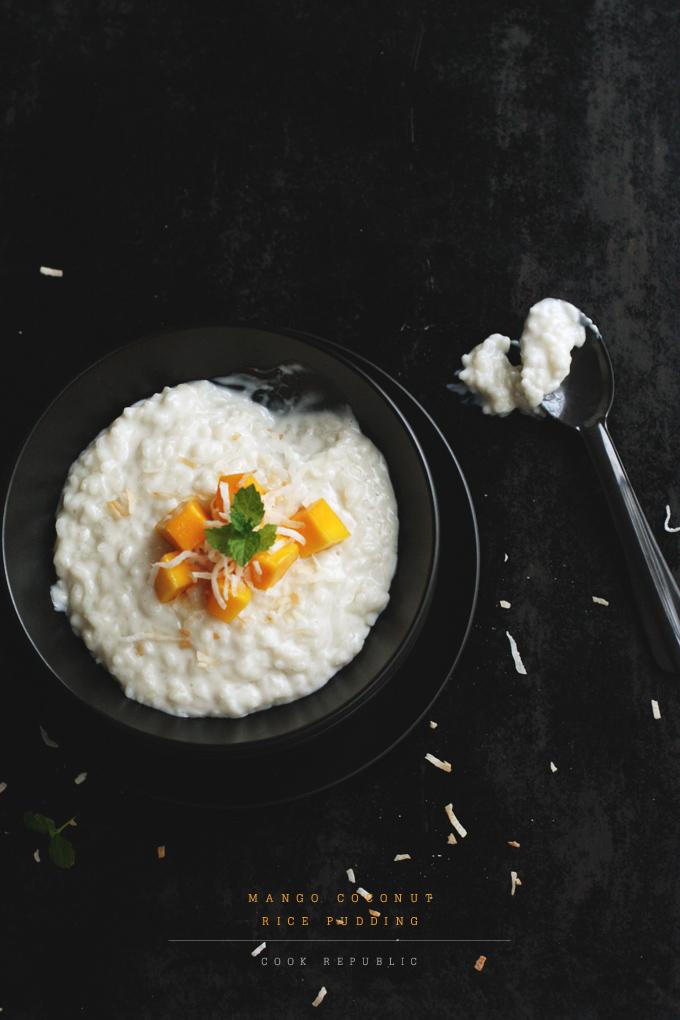 Coconut And Mango Rice Pudding Pops Recipe — Dishmaps